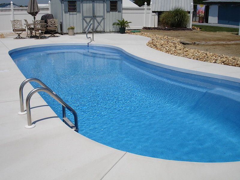 Cantilever Style Pool Deck Without The Hassle Pool Coping In Ground Pools Concrete Pool