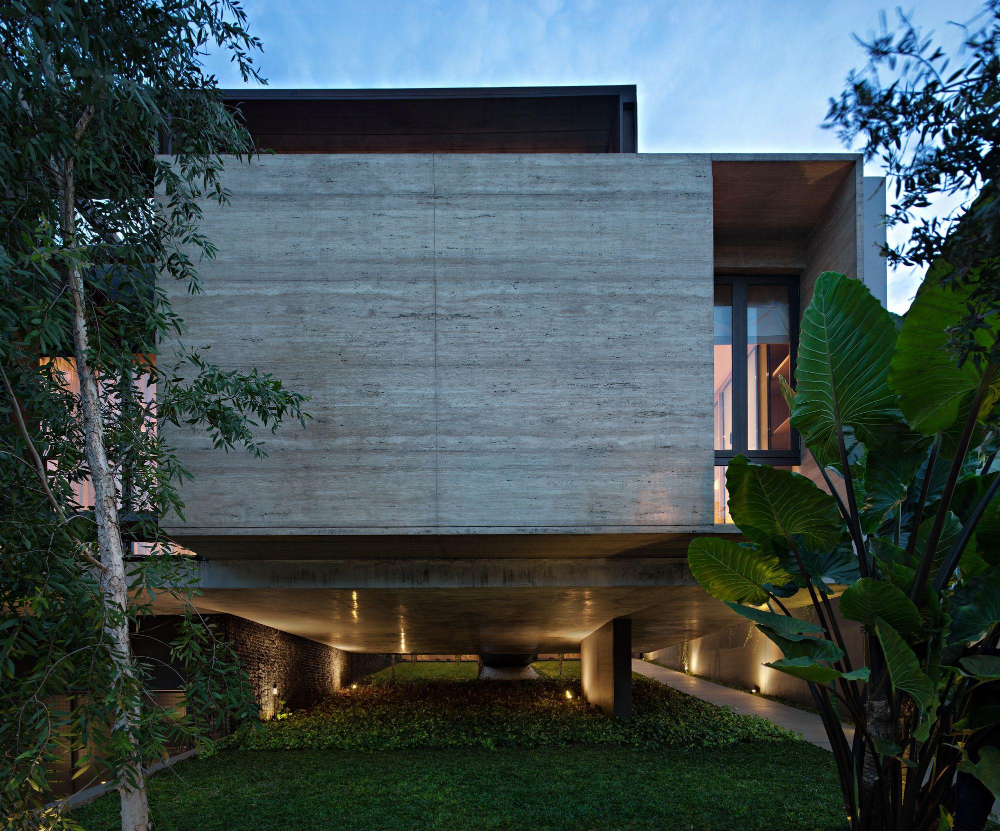 sr house nataneka architect architects house