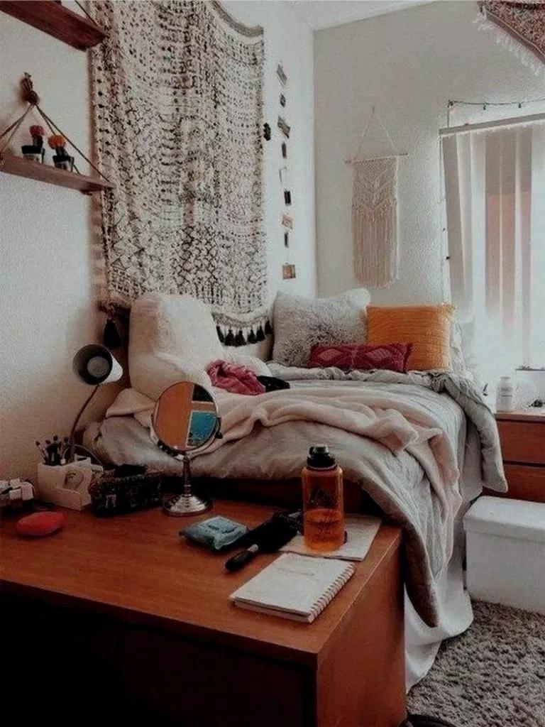 27 Genius Dorm Room Einrichtungsideen Mit Kleinem Budget 00007 Beautiful Dorm Room Dorm Room Decor Cool Dorm Rooms