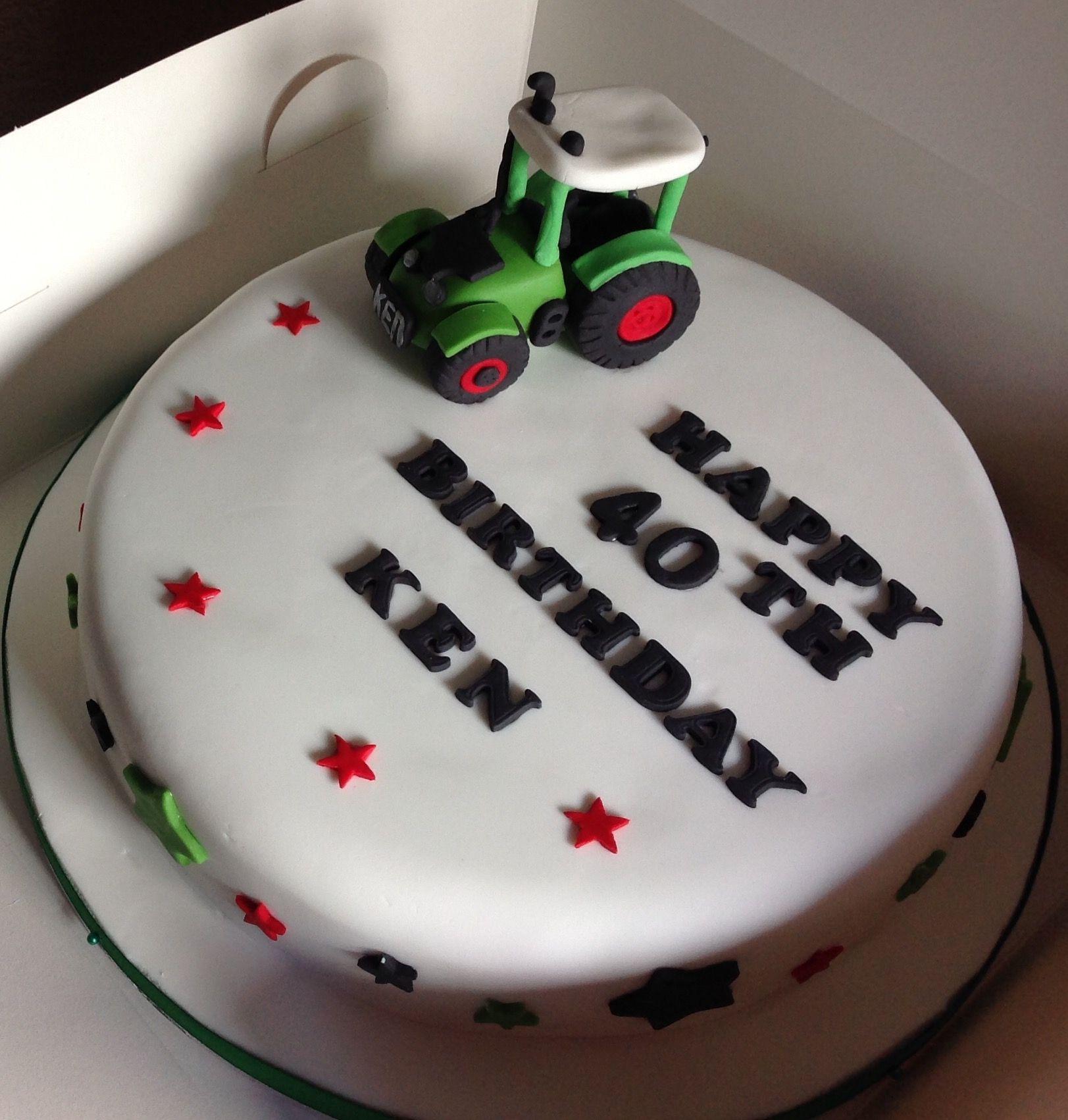 Fendt Inspired Cake Kuchen Fendt