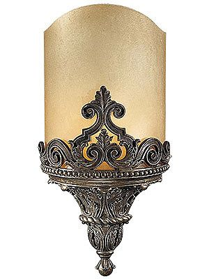 Catalonia Single Sconce In Aged Bronze Patina Glass Wall Lights Antique Wall Lights Wall Lights