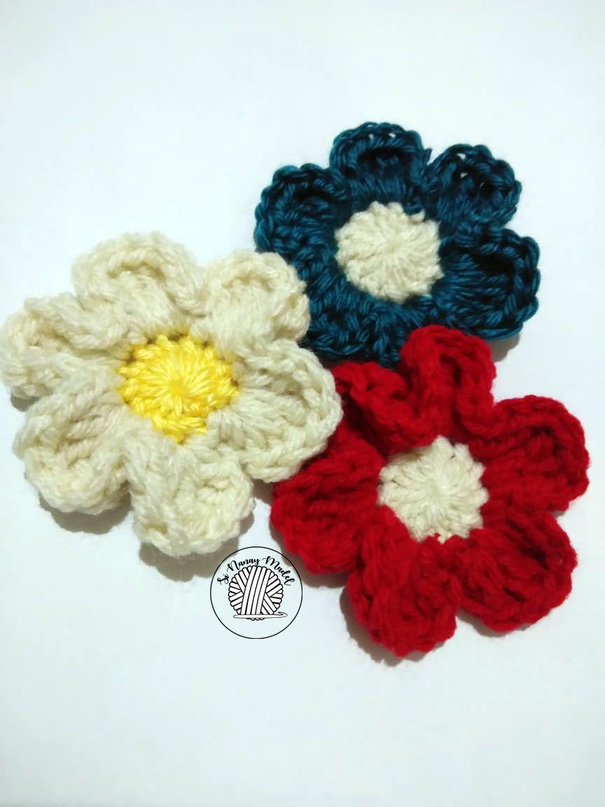Easy crochet flower patterns for hats