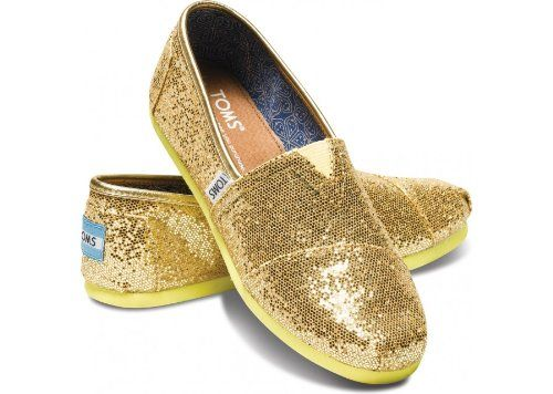 046c9d6be8d19 Pin by S Canada on toms | Gold glitter shoes, Glitter shoes, Shoes ...
