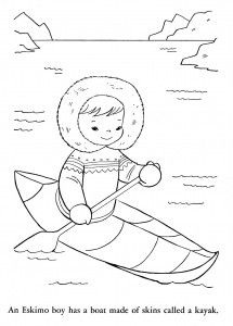 Lots of Children of the world coloring pages