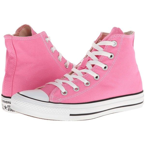 e544425b0aa7 Converse Chuck Taylor All Star Core Hi (Pink) Classic Shoes ( 55) ❤ liked  on Polyvore featuring shoes
