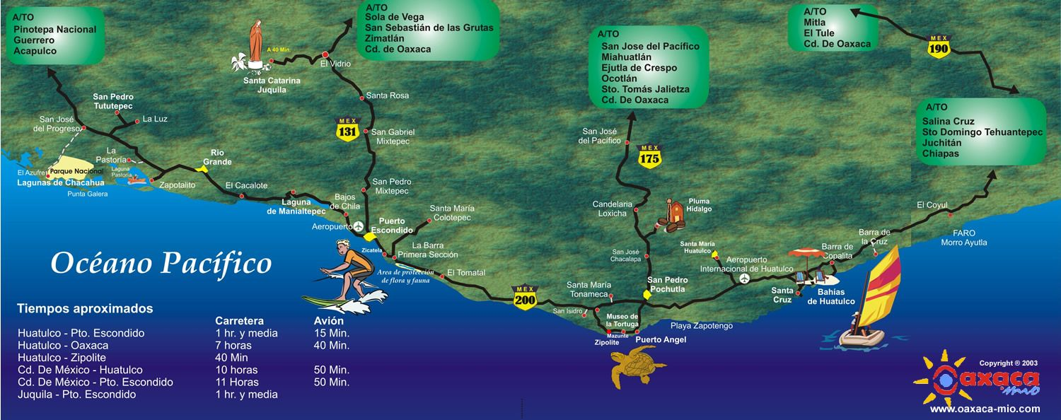 Map Of Huatulco Mexico Places I Ve Been To Huatulco Mexico All