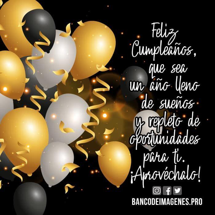 Tarjetas Virtuales Y Felicitaciones Cortas Y Estados Para Compartir Facebook Happy Birthday Wishes Cards Happy Birthday Wishes For Her Happy Birthday Cards