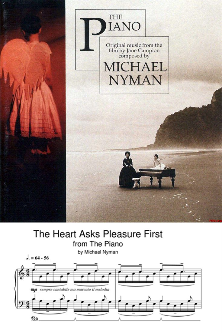 The Heart Asks Pleasure First Sheet Music Michael Nyman Piano Solo Sheet Music Direct Sheet Music Digital Sheet Music