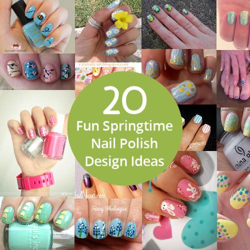 20-Fun-Springtime-Nail-Polish-Design-Ideas | Nail Art | Pinterest ...