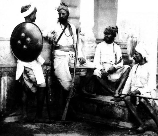 a history of the indian uprising of 1857 Princely families joined the uprising due to british changes to the  the indian revolt of 1857 lasted until june of  major periods in indian history.