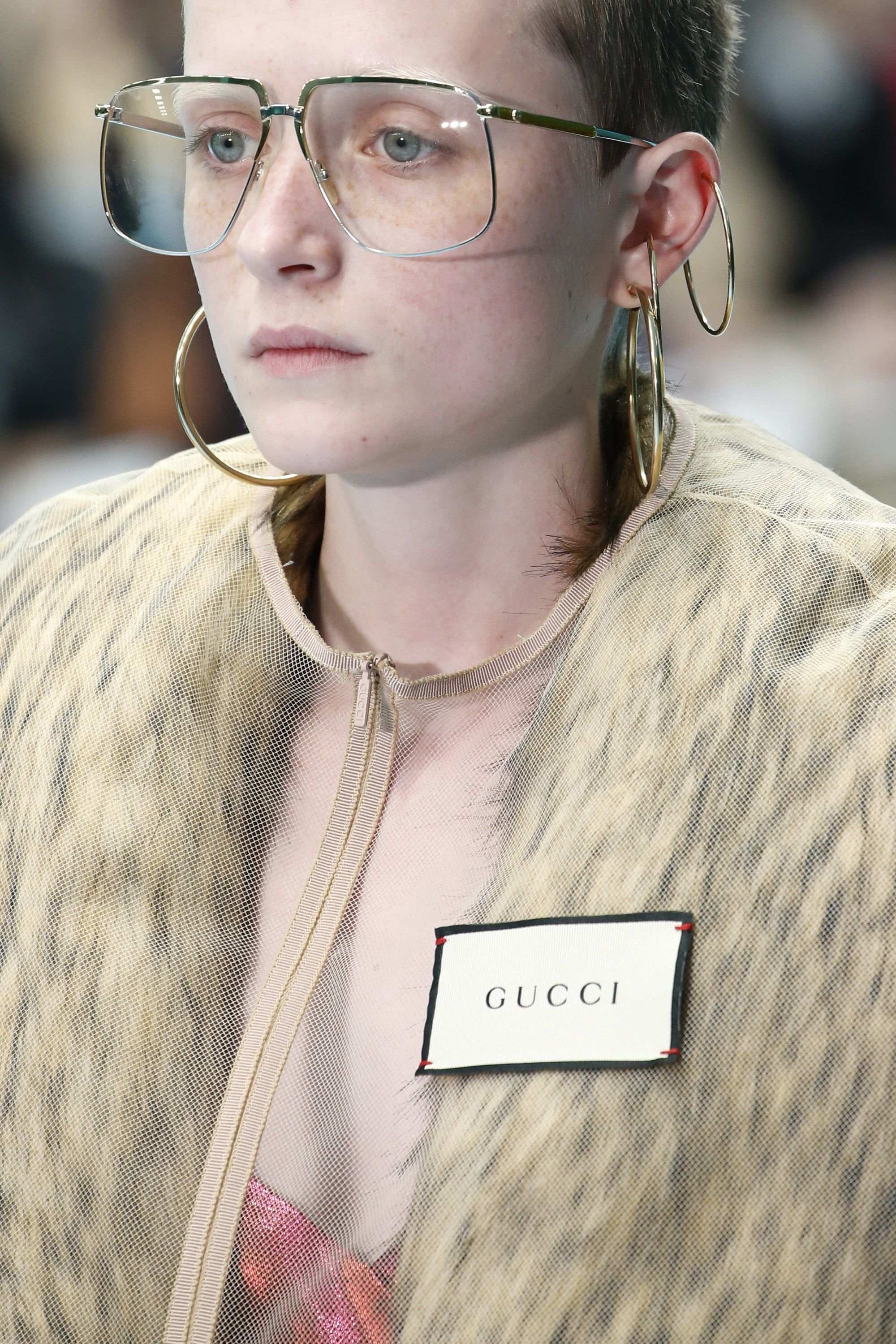 318d65050723 The complete Gucci Fall 2018 Ready-to-Wear fashion show now on Vogue Runway.