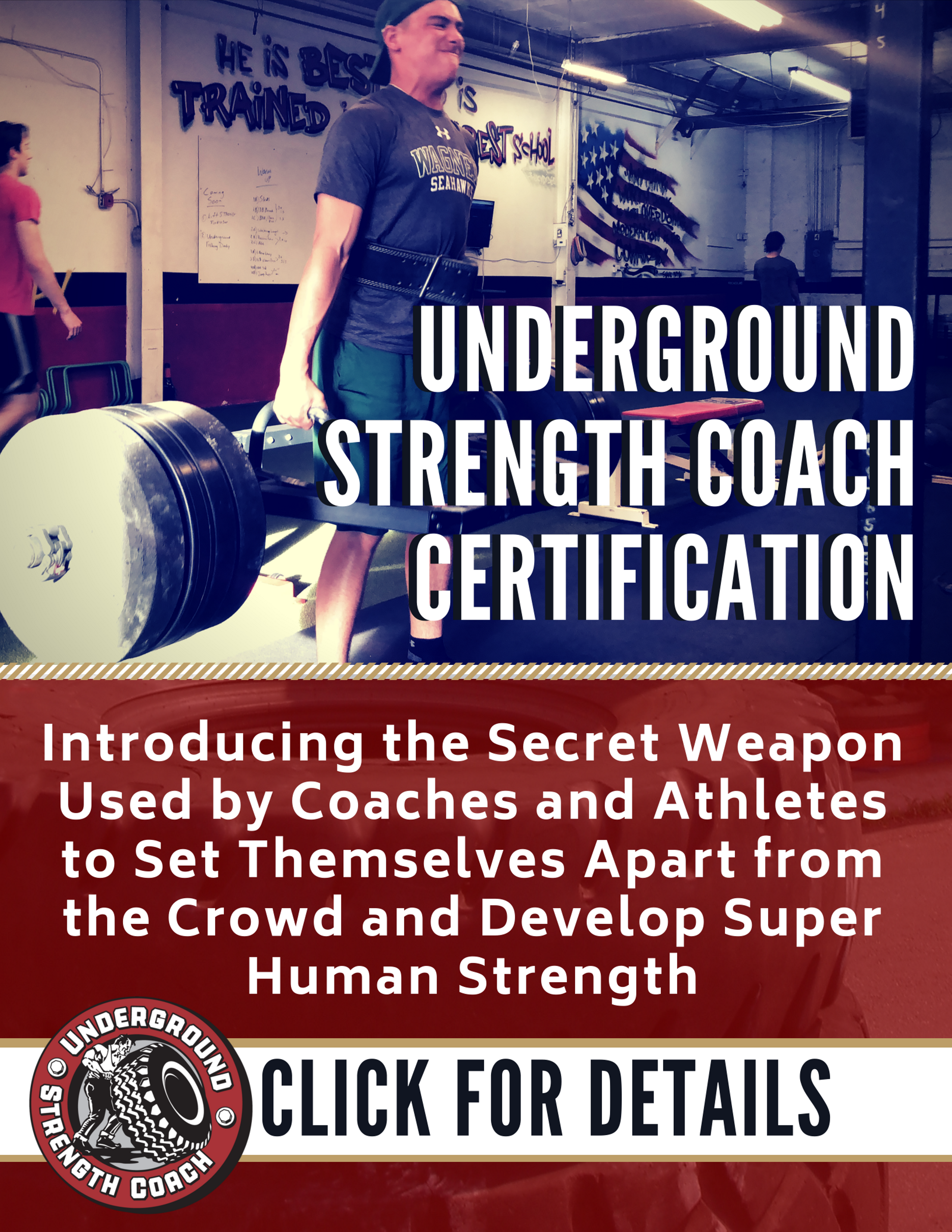 Underground Strength Coach Certification Personal Training