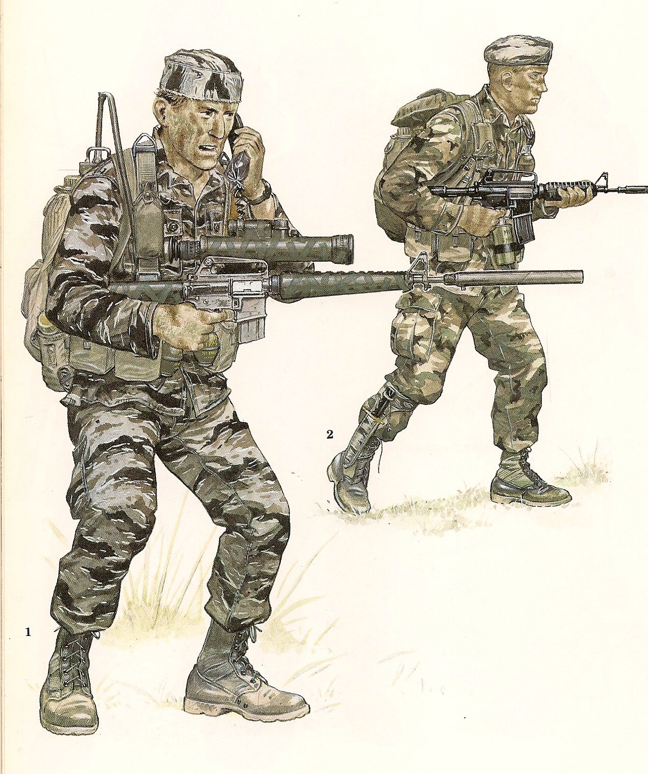 Nº 1.- 1st Lieutenan, Infantry, US Military Advisory