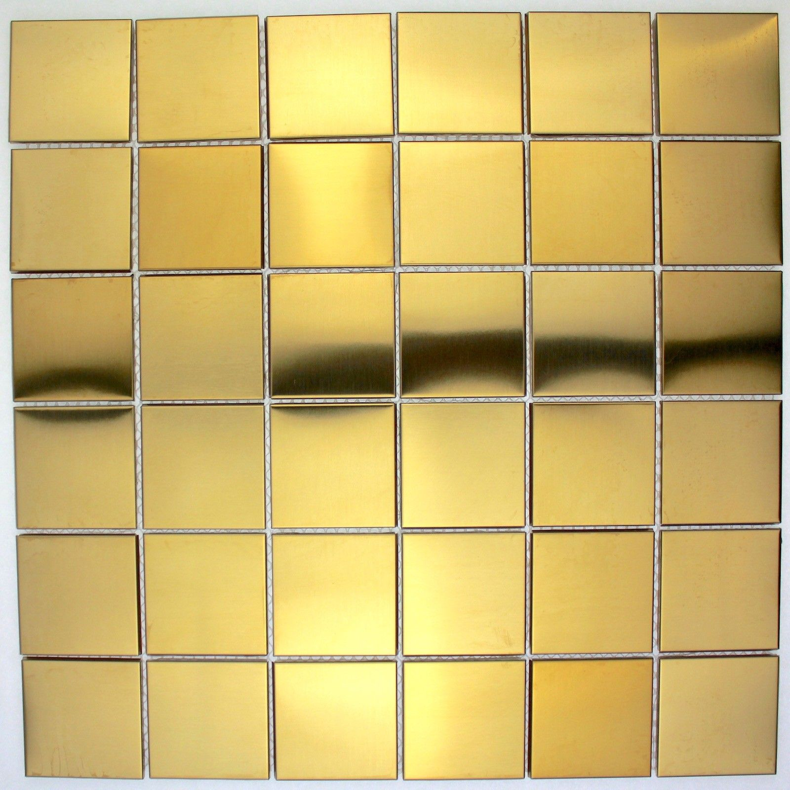 - Stainless Steel Tiles Kitchen Backsplash Mi-reg48-g Carrelage