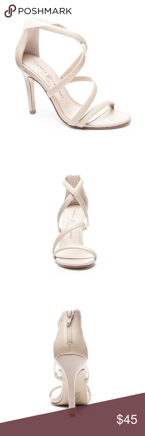 Chinese Laundry Jillian Strappy Heel Boutique With Images Heels Strappy Heels Stiletto Heels