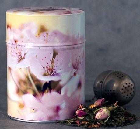 Boîte à thé Cherry tree illustrée par Sophie Thouvenin #tea #thé