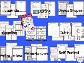 Pocket of Preschool: Portfolio Made Easy & GIVEAWAY