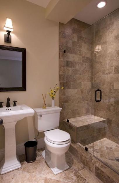 20+ Minimalist And Futuristic Bathroom Remodelling Ideas #smallbathroomremodel