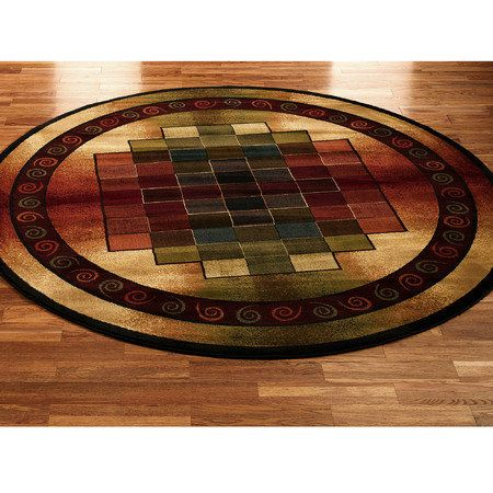 Round Area Rugs Autumn Collage Way Too Pricey For My Budget But