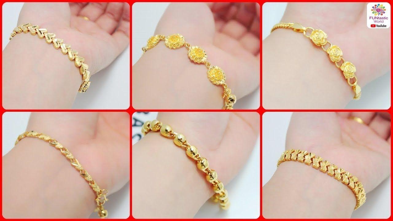 Gold Bracelet Designs For Women Latest Gold Bracelets For Girls 2018 Gold Bracelet For Girl Gold Bracelet For Women Bracelet Designs