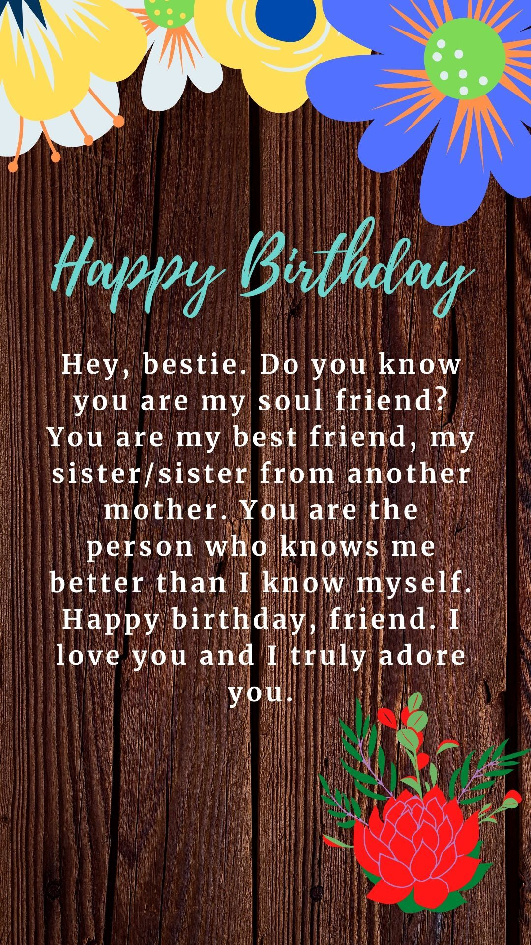 Happy Birthday to a True Bestie in 2020 | Birthday wishes ...