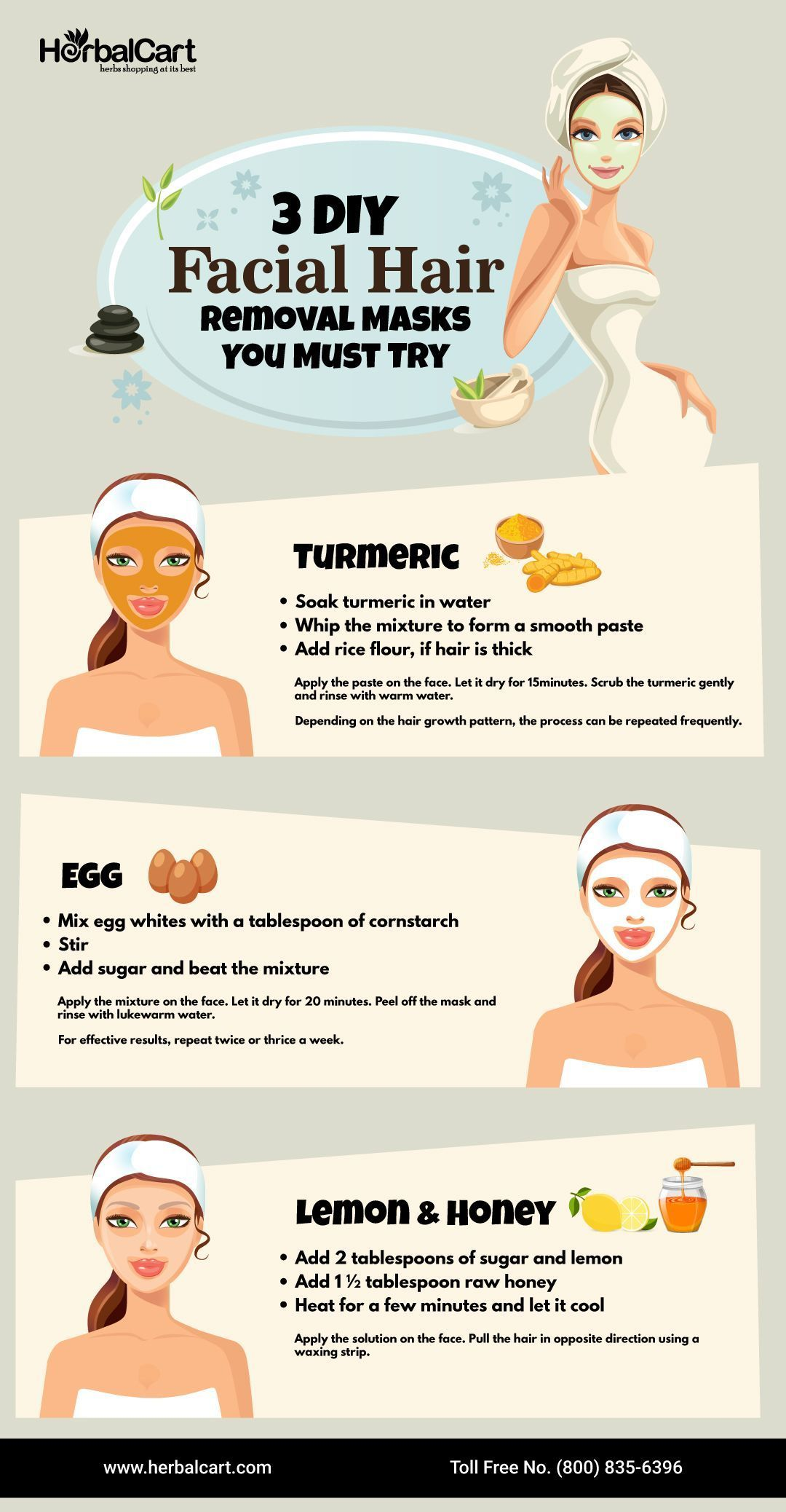 3 diy facial hair removal masks you must try ______ there