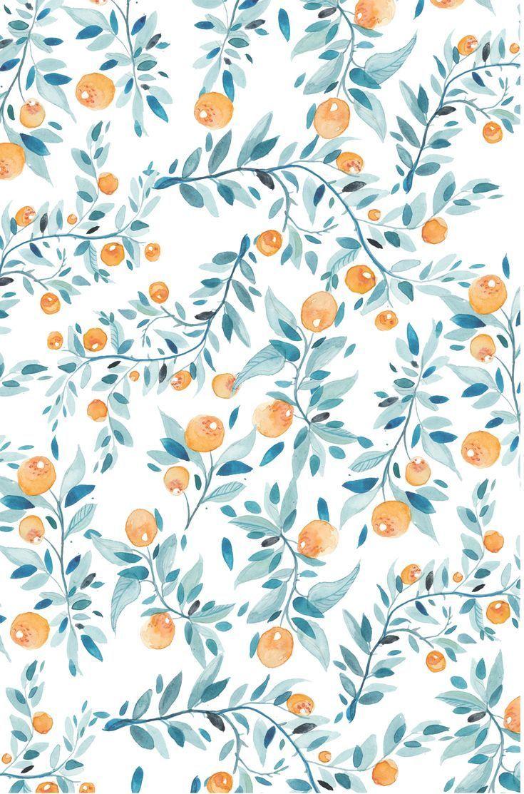 Hintergrund Muster Orange