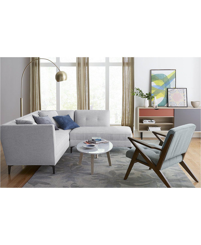 Camilia Fabric Modular Sofa Collection, Created for Macy's