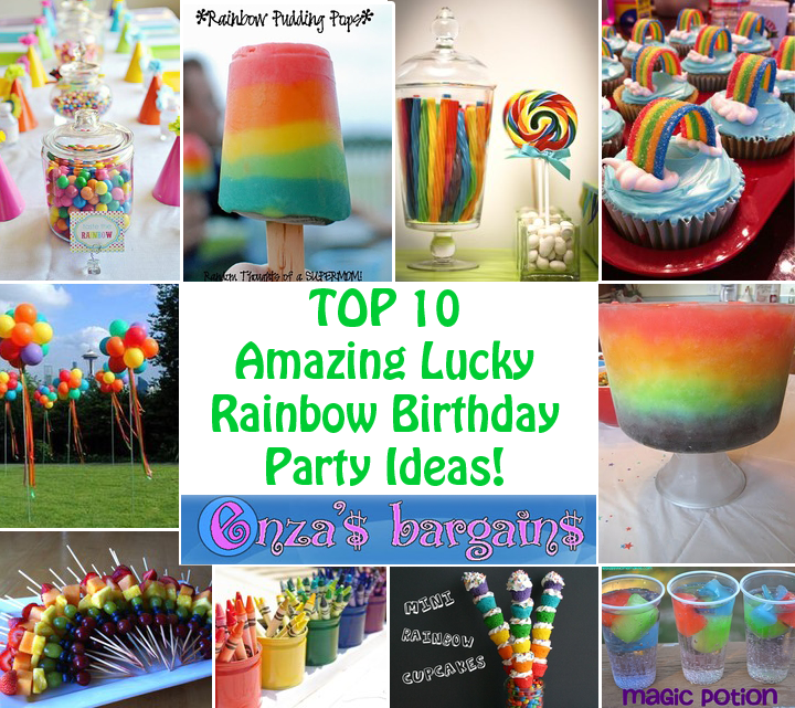Rainbow Party Ideas Top 10 Perfect for Birthday Schools and more