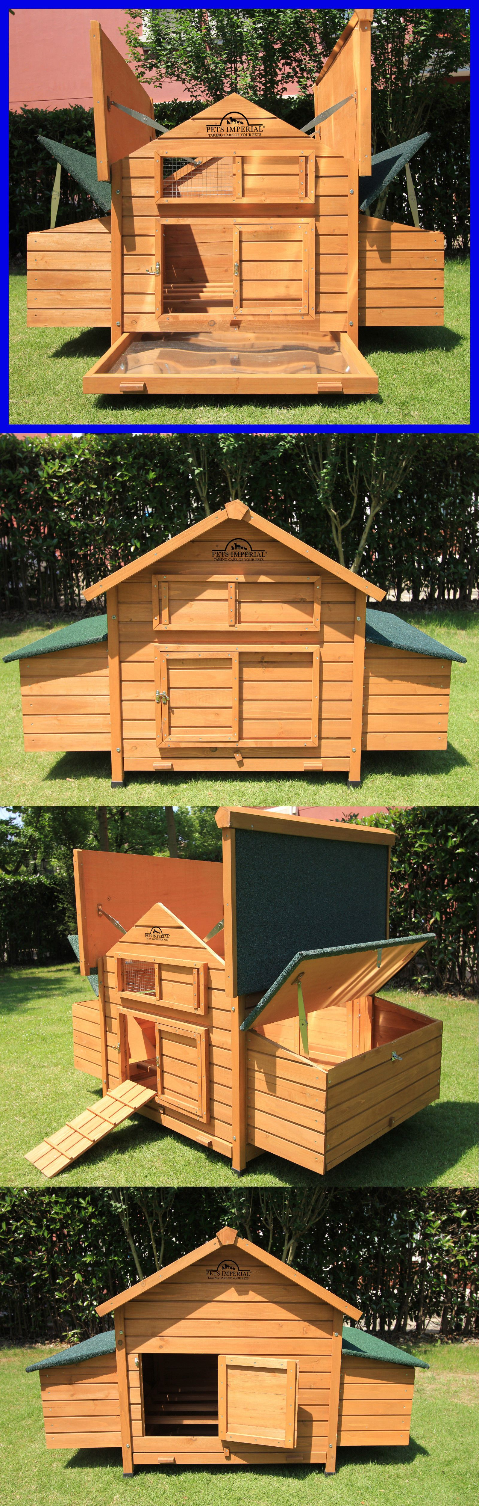 wood in shipping product insulated products overstock hutch pet rabbit trixie free today supplies solid