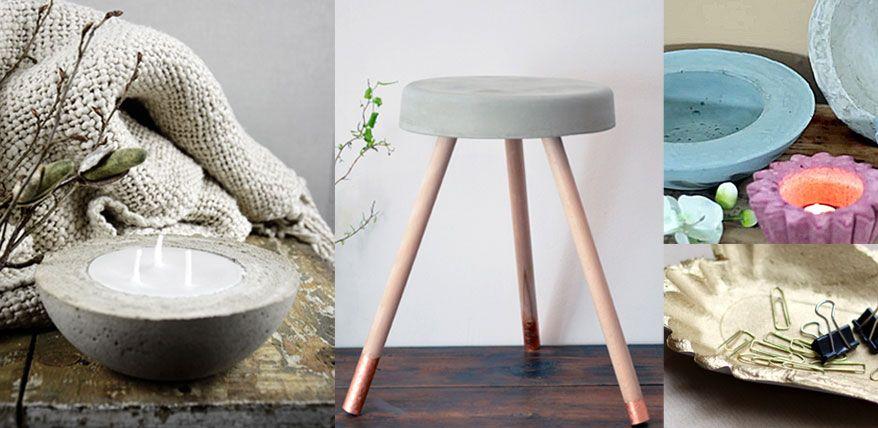 hübsche härtefälle: beton-deko selber giessen | garten brunnen, Best garten ideen