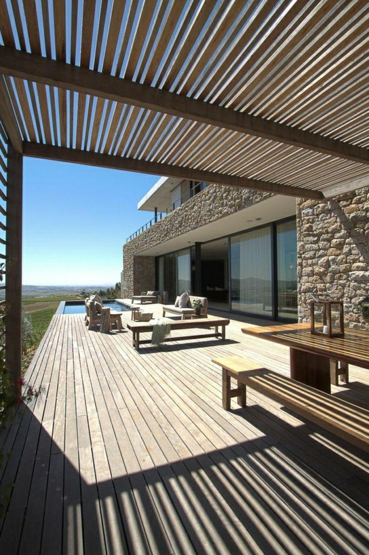 estupendas ideas de decoración para terrazas   casas   Pinterest ...