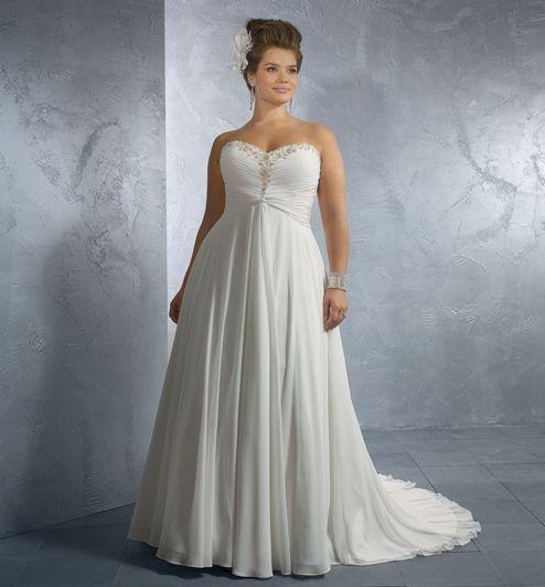 elegant plus size wedding dress patterns | Wedding Ideas | Pinterest ...