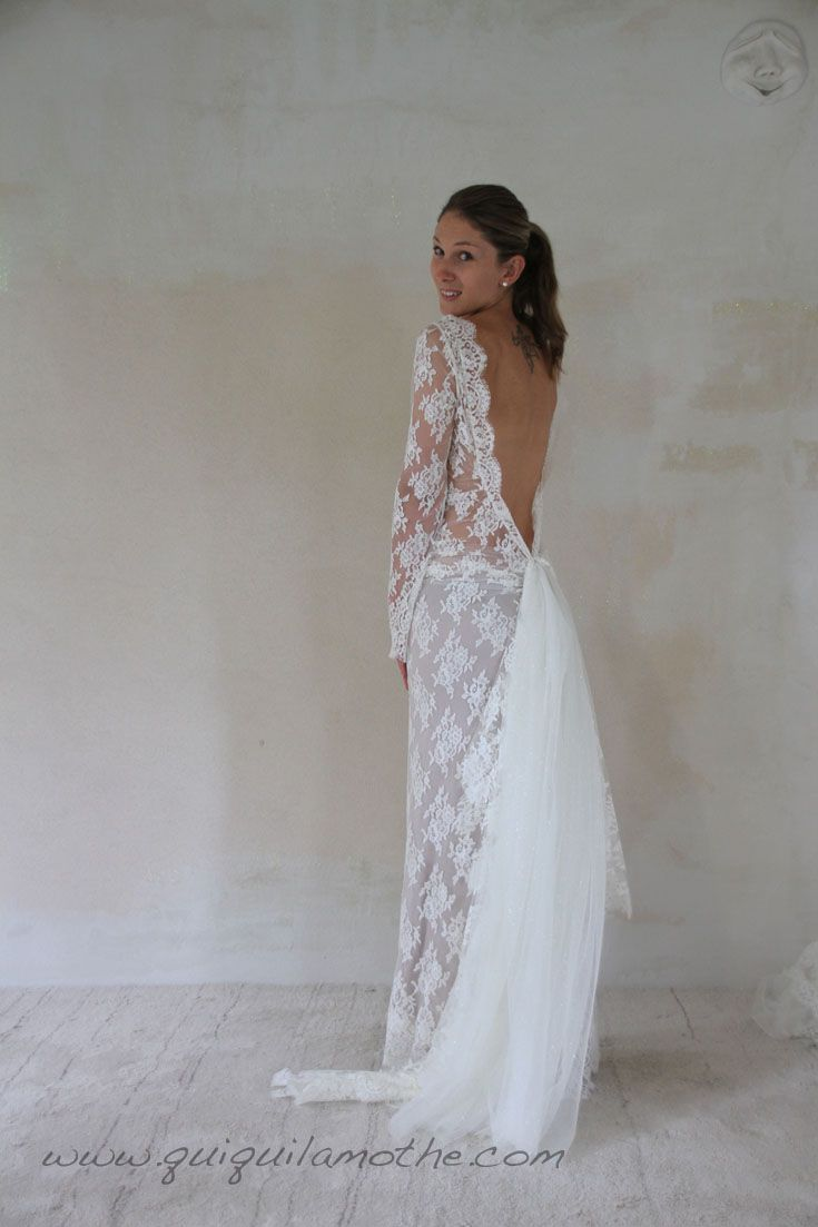 épinglé Sur Robes De Mariées Dentelle Lace Wedding Dress