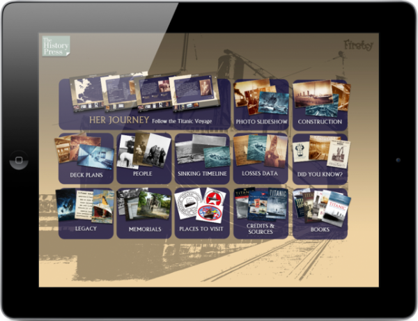 An app for Titanic fans