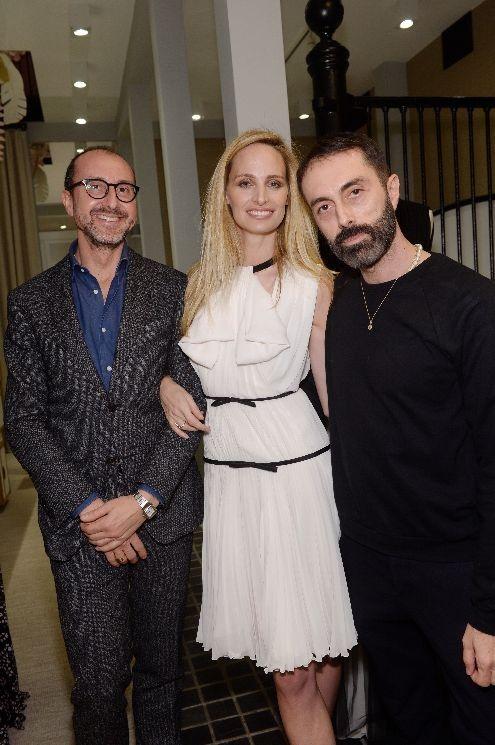 """Faccia a faccia con la fondatrice di Moda Operandi e il couturier italiano. Tra abiti """"trafugati"""", fashion moments e haute couture"""