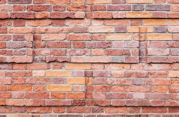 Old Red Brick Wall Decorative Pattern Red Brick Walls Red Bricks Brick Wall