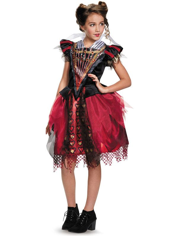 Check Out Alice Through The Looking Glass Girls Tween Red Queen