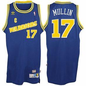 Golden State Warriors adidas Chris Mullin #17 Soul Swingman Jersey - Royal
