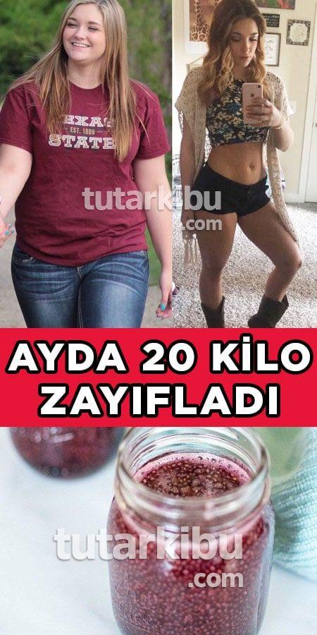 1 Ayda 20 Kilo Vermek