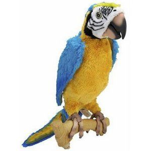 Hasbro Furreal Friends Squawkers Mccaw Parrot Review