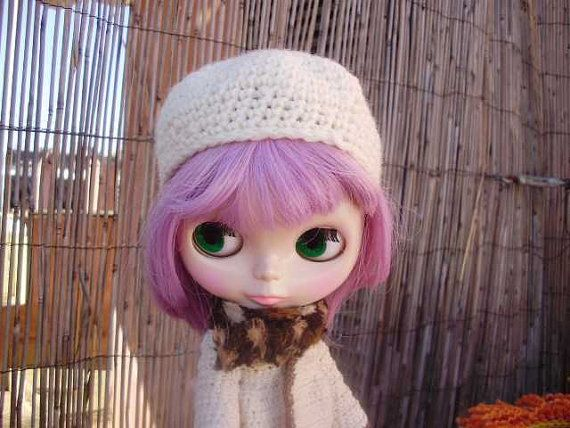 ivory skullcap Casquete color marfil by blythemia on Etsy, €5.00