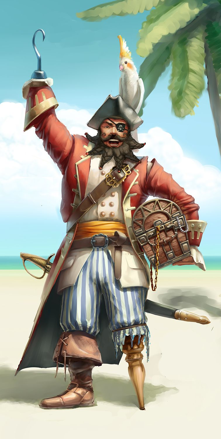 This is a graphic of Smart Pictures of Pirates
