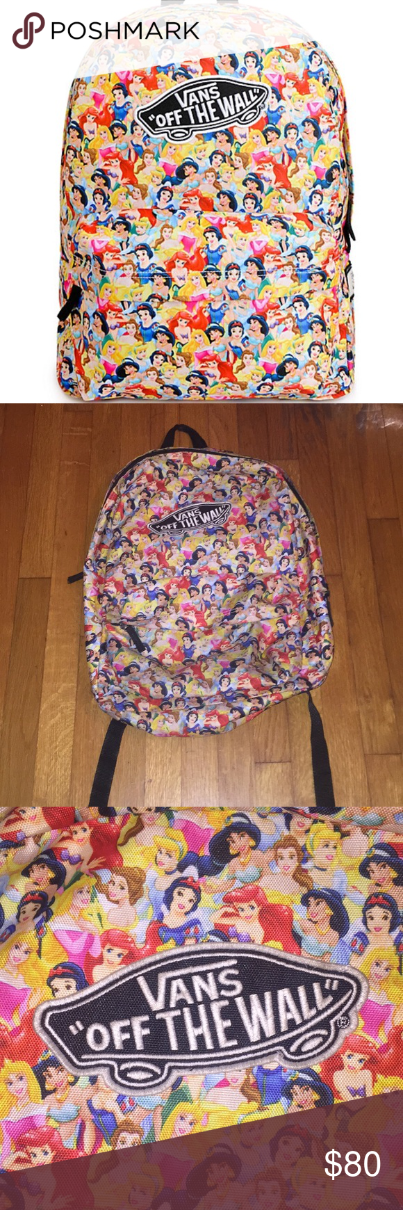 6fcb27bb3b5b Vans disney princess backpack vans disney princess backpack condition  gently used png 580x1740 Vans princess backpack