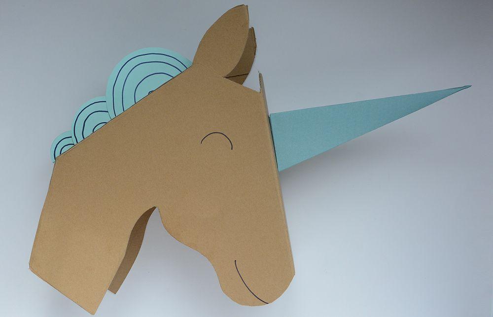 un troph e licorne ideas for kids party unicorn party. Black Bedroom Furniture Sets. Home Design Ideas