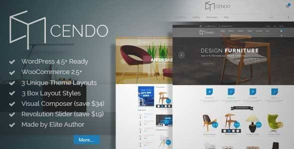 Download and review of VG Cendo - WooCommerce WordPress Theme for ...