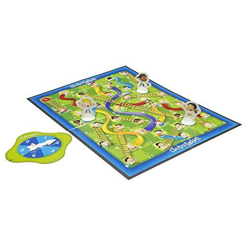 Hasbro Chutes and Ladders  http://www.bestdealstoys.com/hasbro-chutes-and-ladders/