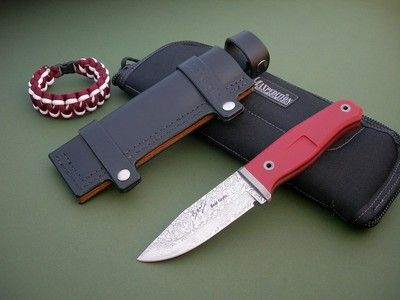Rob Bayley Knife Bear Grylls Signature S4 Damasteel