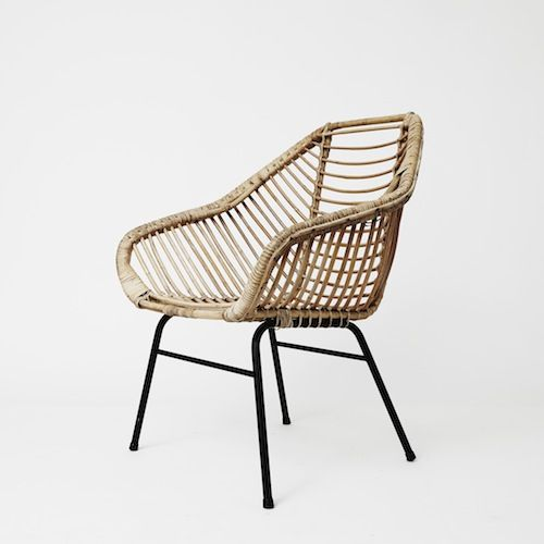 Fauteuil en rotin design furniture pinterest for Fauteuil osier but
