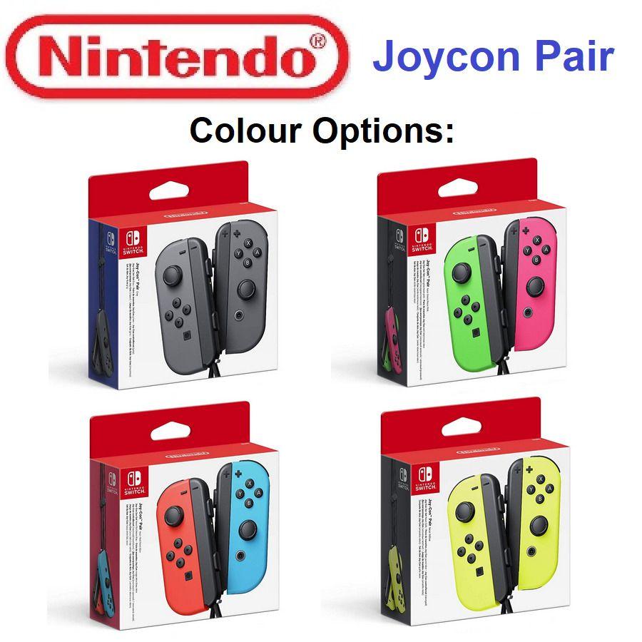 Joycon Controllers Gamepad Joy-con Controller Pair For
